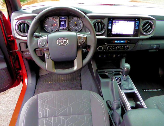 2016 Toyota Tacoma dash