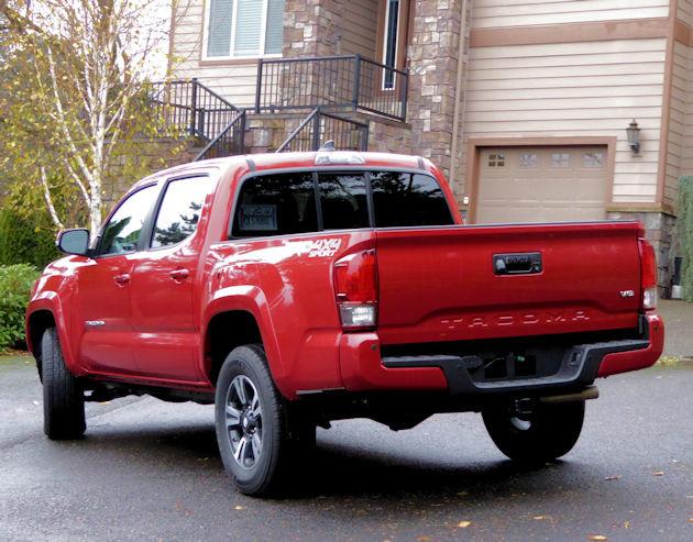 2016 Toyota Tacoma rear
