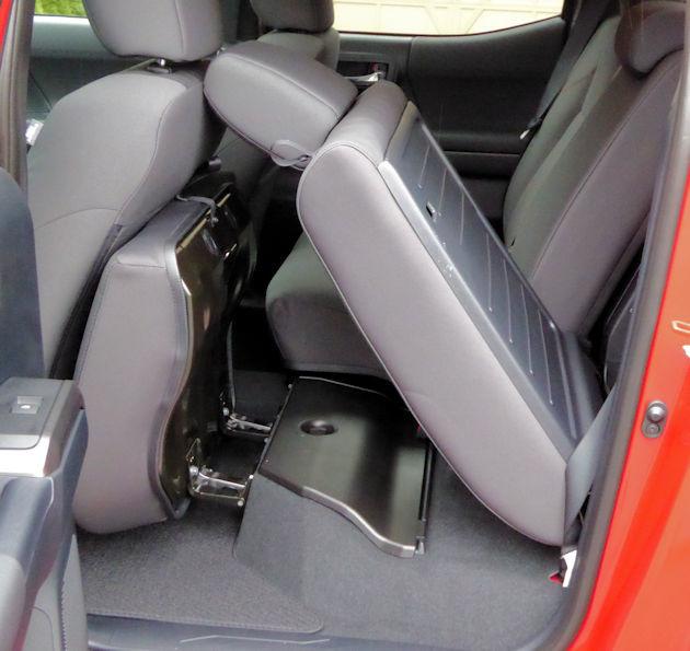 2016 Toyota Tacoma rear seat