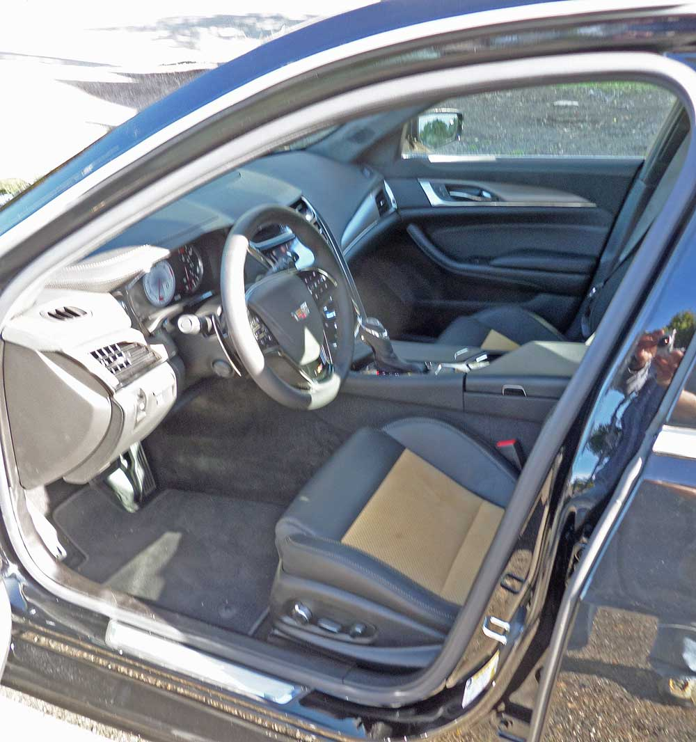 Cadillac Cts V Coupe 2016: 2016 Cadillac CTS-V Sedan Test Drive