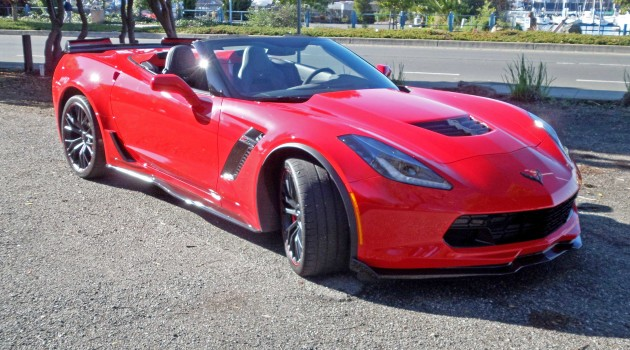 2016 Chevrolet Corvette ZO6 Convertible Test Drive