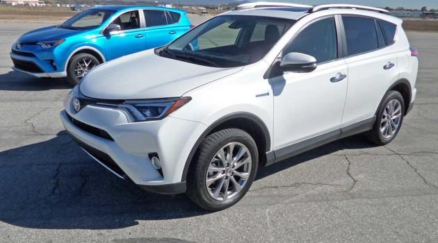 2016 Toyota RAV4 Hybrid Limited Test Drive
