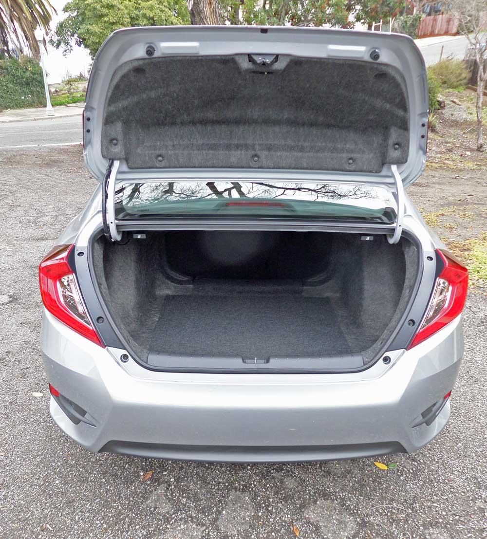 2016 Honda Civic EX/SENS Test Drive