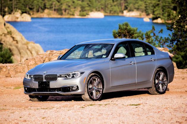 2016 BMW 340i front q
