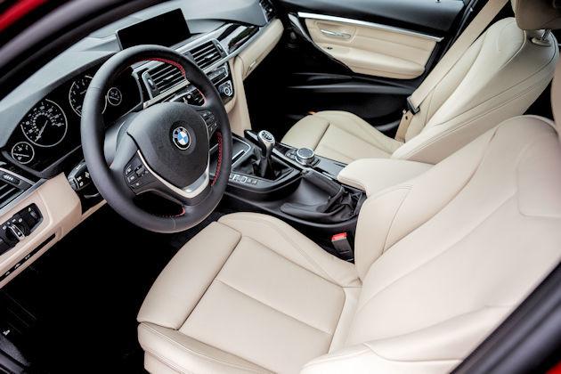 2016 BMW 340i interior 2