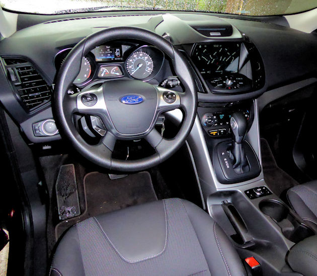 2016 Ford Escape dash