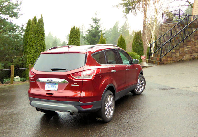 2016 Ford Escape rear