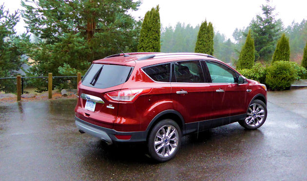 2016 Ford Escape rear q