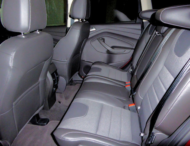 2016 Ford Escape rear seat