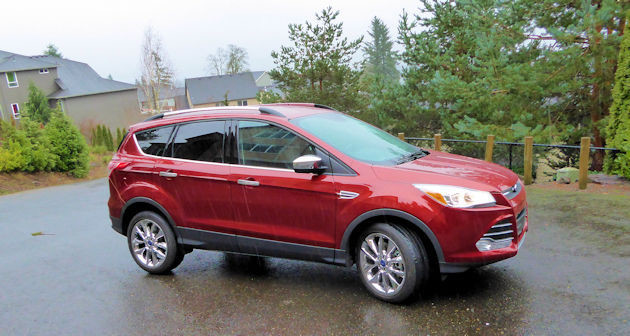 2016 Ford Escape side