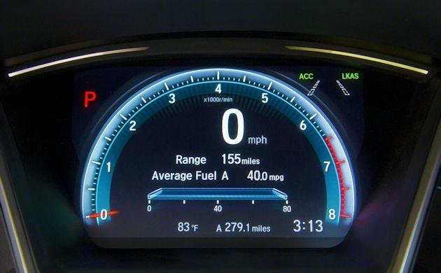 2016 Honda Civic IP