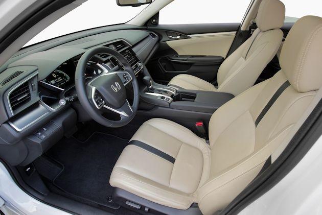 2016 Honda Civic interior 2