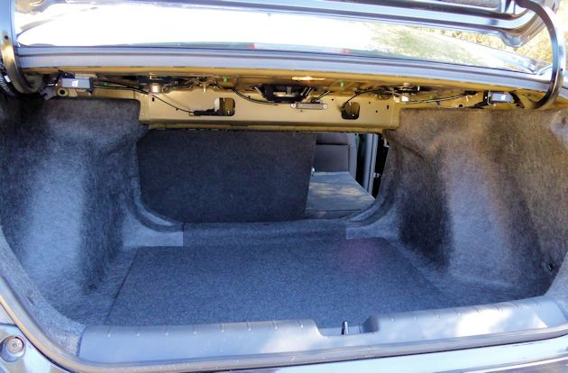 2016 Honda Civic trunk