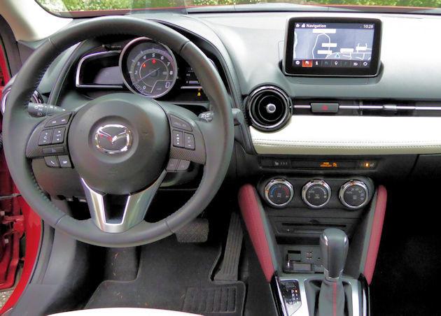 2016 Mazda CX-3 dash 2