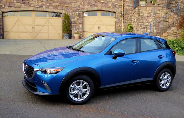 2016 Mazda CX-3 side