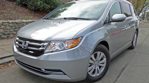 2016 Honda Odyssey SE Test Drive