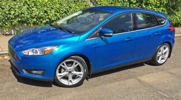 2016 Ford Focus 5-Door Titanium Hatchback Test Drive