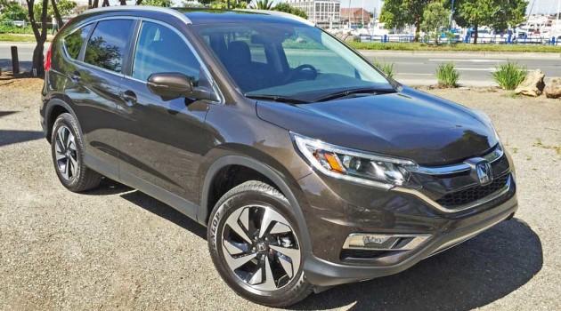 2016 Honda CR-V Touring Test Drive