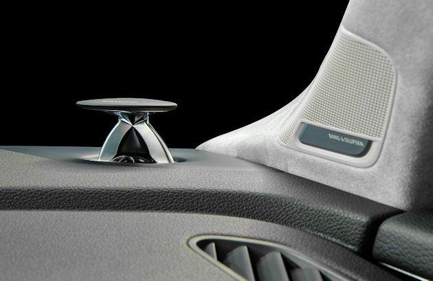 2017 Audi Q7 B&O speaker