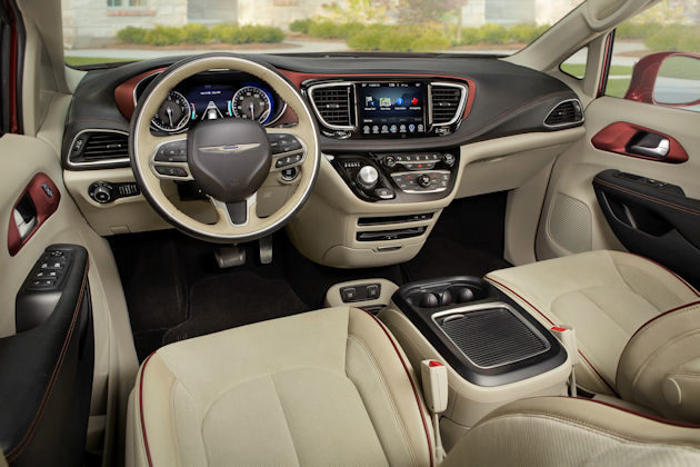 2017 Chrysler Pacifica dash