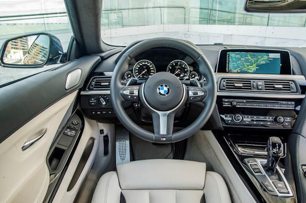 2016 BMW640i dash