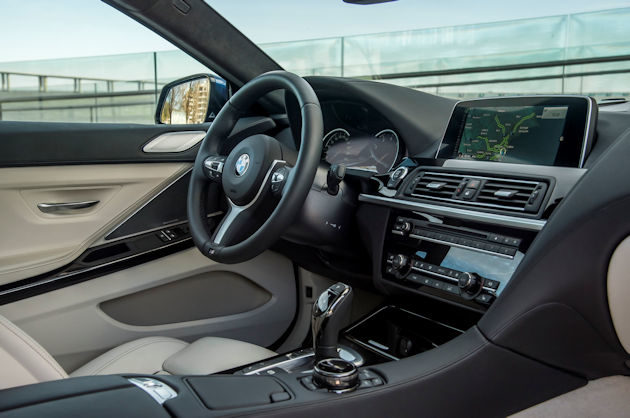 2016 BMW640i interior 2