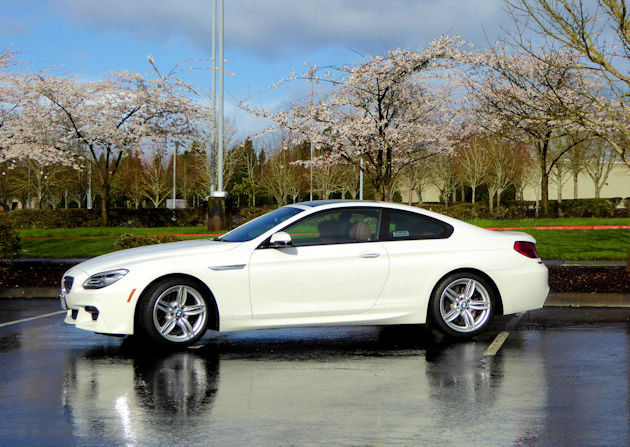 2016 BMW640i side