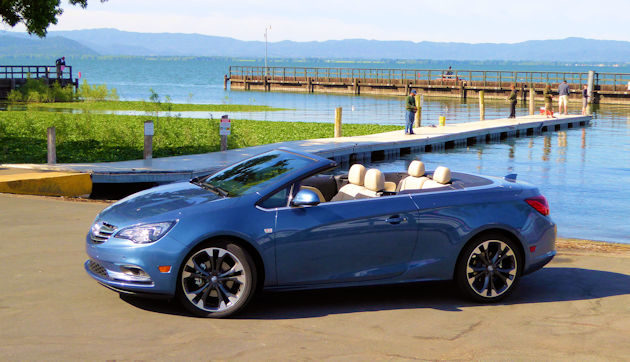 2016 Buick Cascada td side