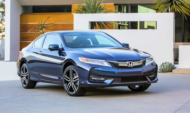 2016 Honda Accord coupe front q
