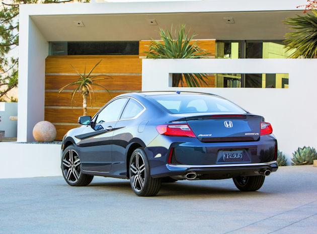 2016 Honda Accord coupe rear