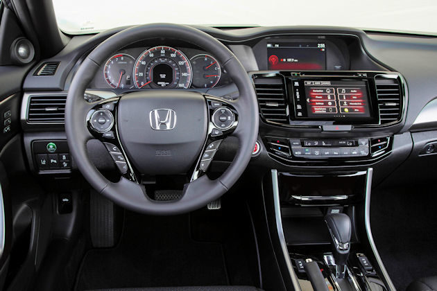 2016 Honda Accord dash