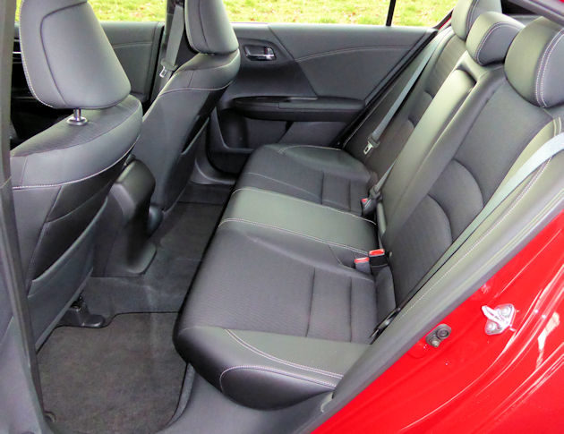 2016 Honda Accord rear seat