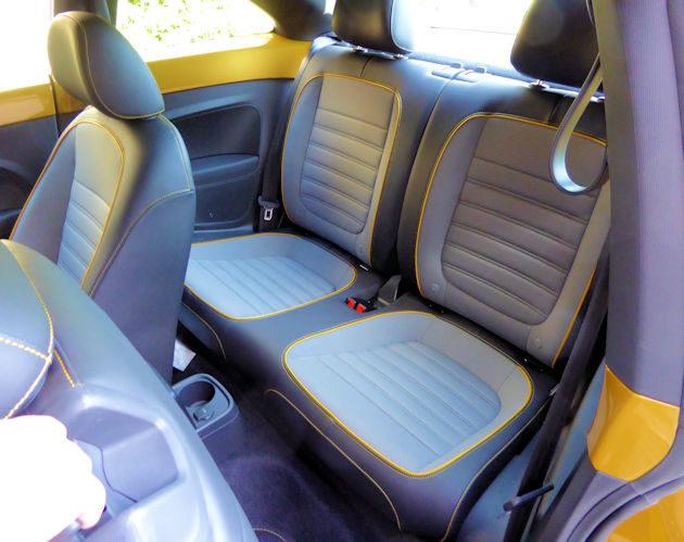 2016 Volkswagen Dune rear seat