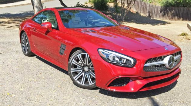 2017 Mercedes-Benz SL 450 Roadster/Coupe Test Drive