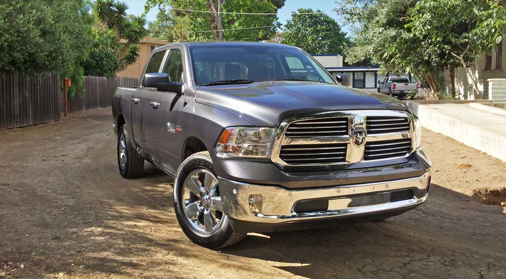 2016 ram 1500 big horn 4 4 crew cab test drive our auto expert. Black Bedroom Furniture Sets. Home Design Ideas