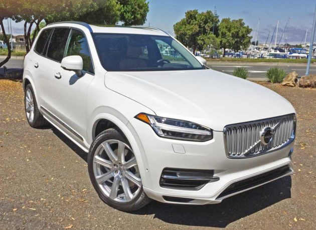 2016 Volvo Xc90 T8 Inscription Plug In Hybrid Test Drive