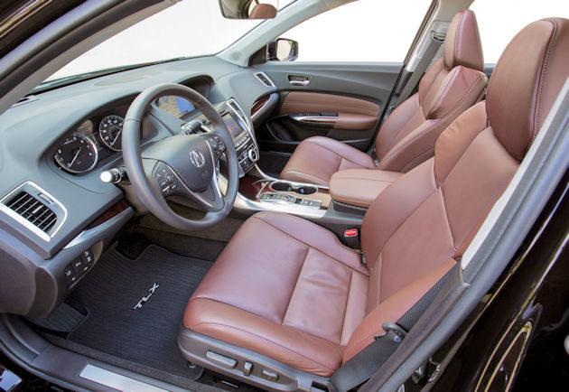 20156 Acura TLX interior
