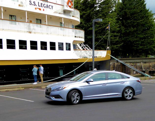 2016 Hyundai Sonata Plug-In Hybrid Test Drive