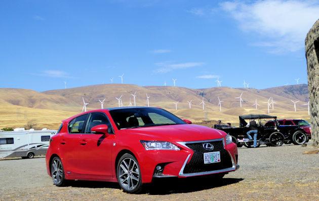 2016 Lexus CT 200h front q2