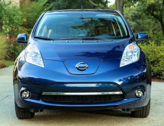 2016 Nissan Leaf Test Drive