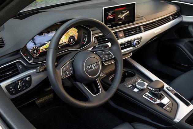 2017 Audi A4 dash