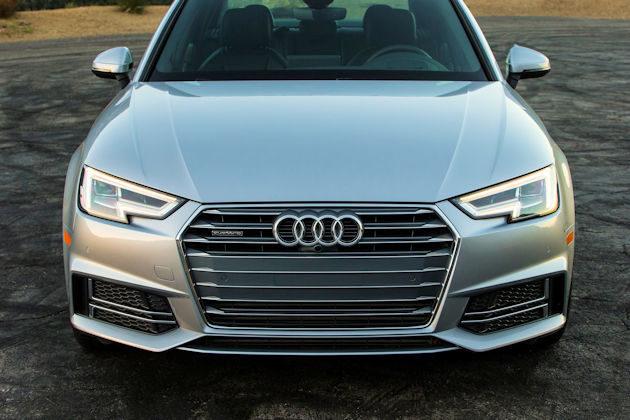 2017 Audi A4 front 2