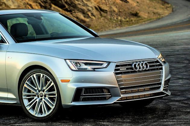 2017 Audi A4 front