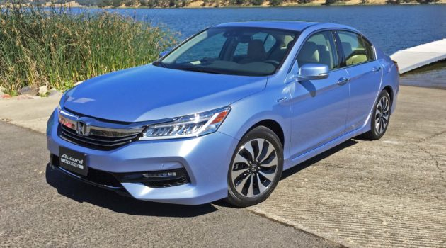 2017 Honda Accord Hybrid Touring Test Drive