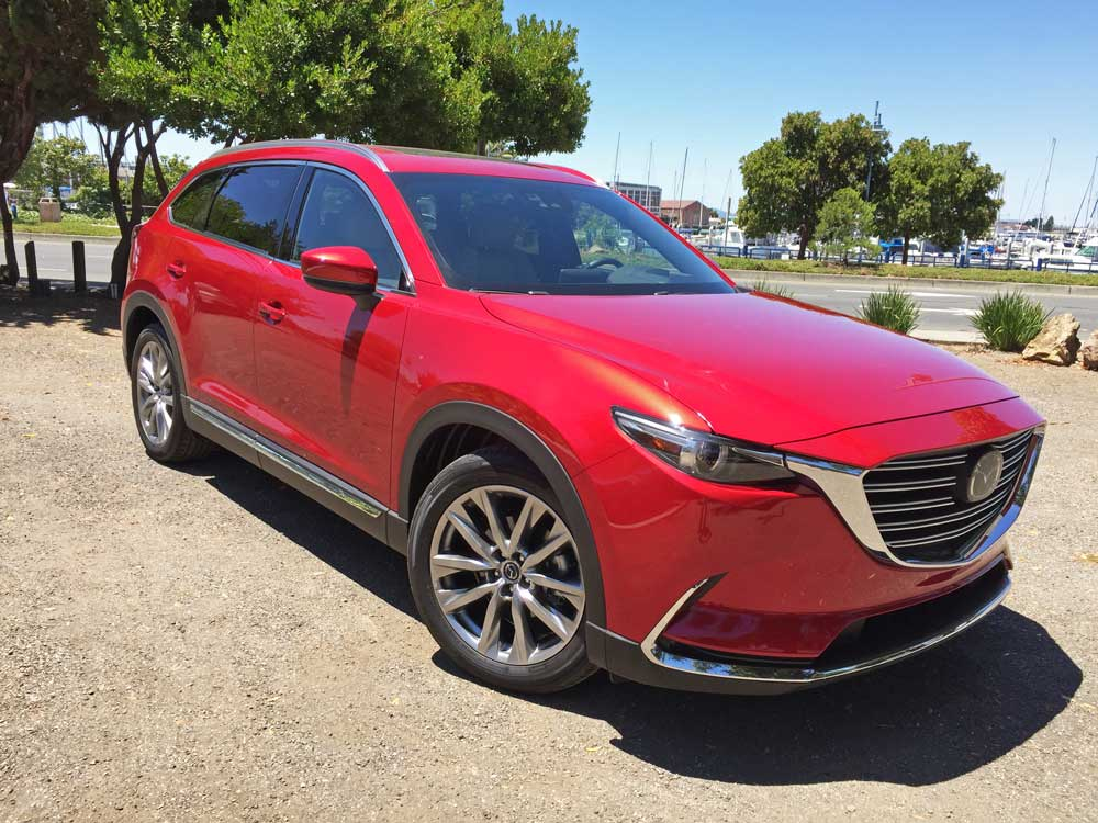 2016 mazda cx 9 grand touring fwd test drive our auto expert. Black Bedroom Furniture Sets. Home Design Ideas