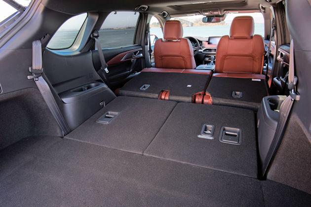 2016 Mazda CX-9 cargo