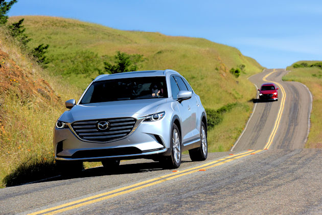 Mazda CX-9 Test Drive