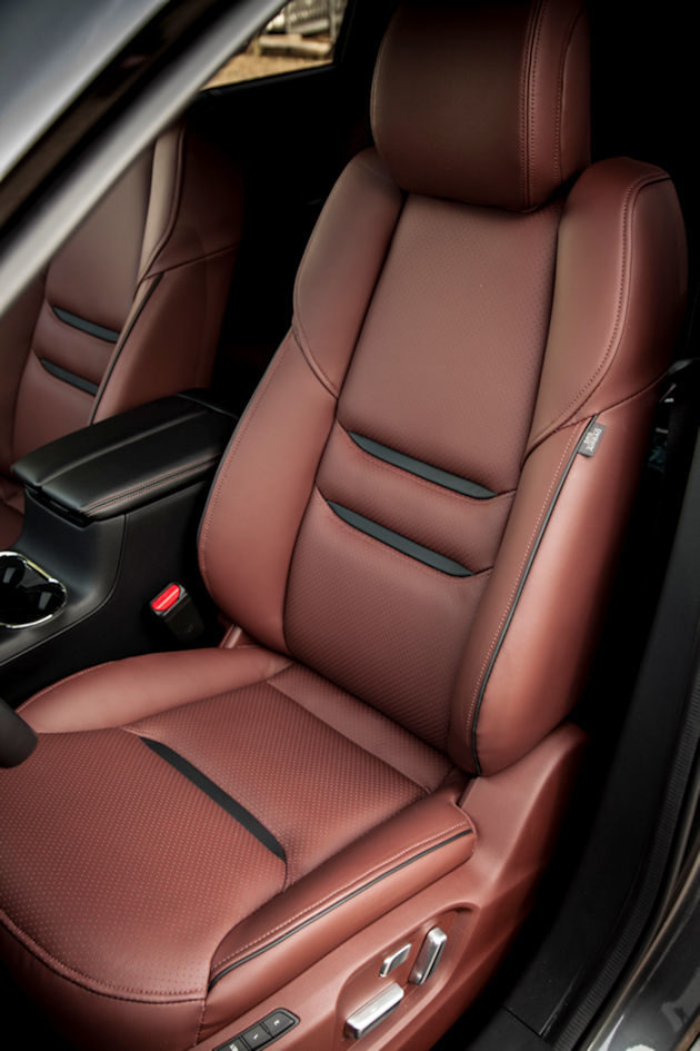 2016 Mazda CX-9 seat