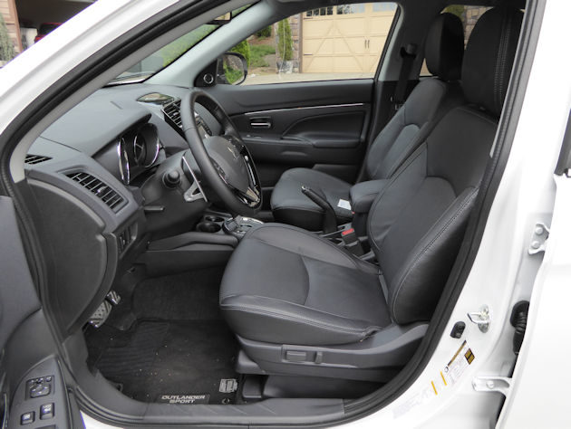 Mitsubishi outlander sport test drive our auto expert - Mitsubishi outlander 2016 interior ...
