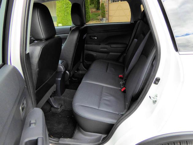 2016 Mitsubishi Outlander Sport rear seat